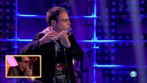 Flautista Beatbox Oscar Vazquez TSQV