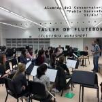 Aprender flauta beatbox Flutebox.es-Taller Encuentro flautas Navarra