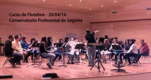 Curso de Flauta Beatbox Conservatorio Segovia