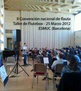 Flutebox.es 05 Taller de Flauta beatbox ESMUC