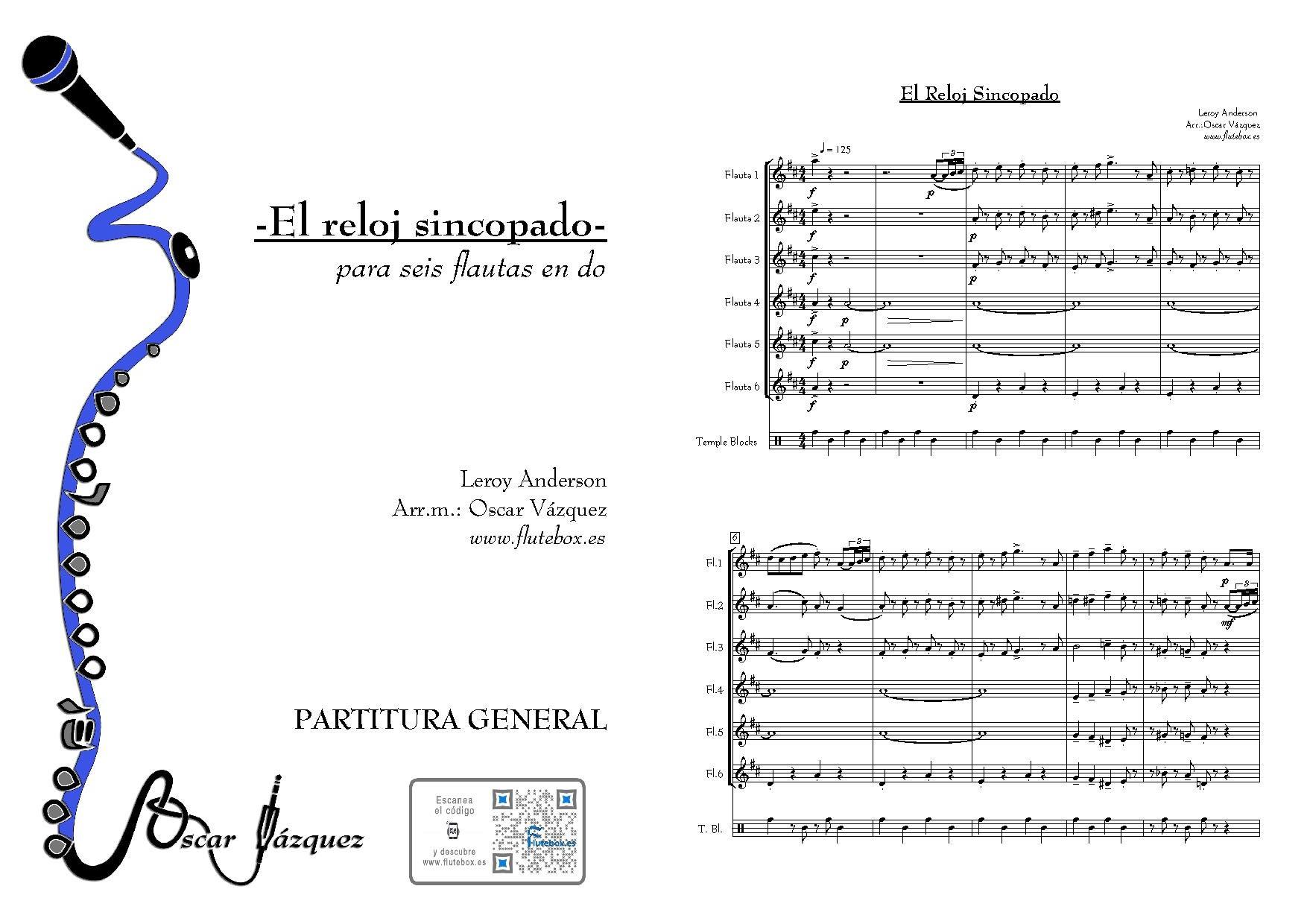 Syncopated Para Clock The Sincopado El Reloj es Flutebox Flauta zMpqVGSU