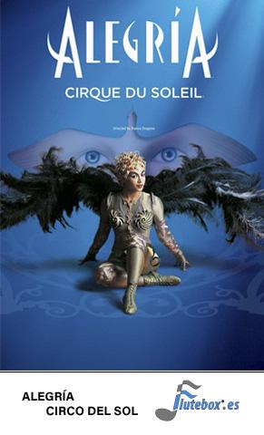 Alegria Canciones de flauta fáciles Circo del sol Cirque du soleil -Flute-Flauta-Beatbox