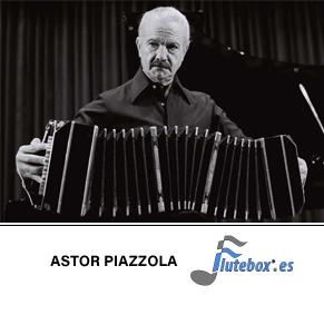 Astor Piazzola-Libertango-Canciones de flauta-Flute-Flauta-Beatbox