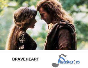 braveheart the secret wedding-Canciones para flauta fáciles-Flute-Flauta-Beatbox