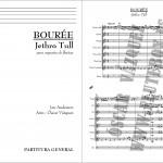 Jethro Tull Bouree Canciones de flauta difíciles
