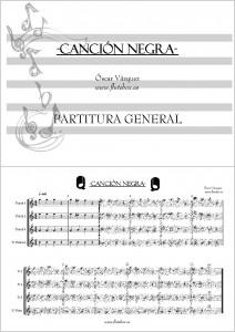 Cancion Negra Canciones de Flauta para Iniciación