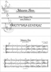 Mazurca-ñera Canciones de Flauta para Iniciación