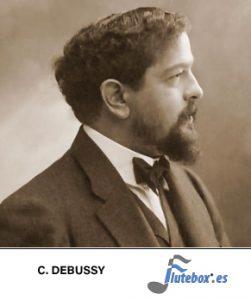 Claude debussy-the little negro-el pequeño negro-Canciones para flauta-flute-Flauta-Beatbox