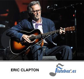 Eric Clapton-Tears in Heaven-Canciones para flauta-Flute-Flauta-Beatbox