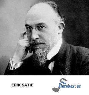 Erik satie-Erik satie-partituras gratis-Gymnopédie 1-Flute-Flauta-Beatbox-Flute-Flauta-Beatbox