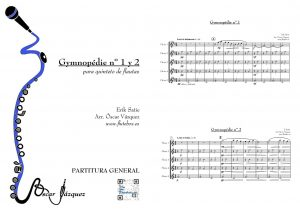 Gymnopedie-Erik-Satie-partitura-flauta