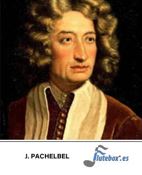 Pachelbel-Canon en Re-Canon in D-Canciones para flauta fáciles-Flute-Flauta-Beatbox