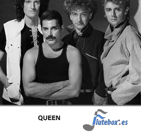 queen-the show must go on-Canciones de flauta-Flute-Flauta-Beatbox