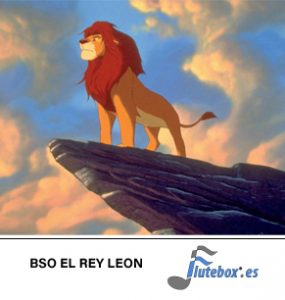 El rey león-The lion king-Canciones de flauta-Flute-Flauta-Beatbox