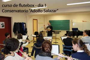 Curso de Flutebox - Conservatorio Madrid 02