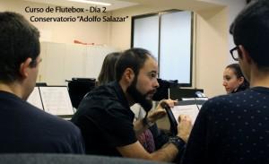 Curso de Flutebox - Conservatorio Madrid 04