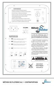 Método de Flutebox Vol. 1 Contraportada