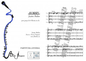 Sorry-Justin-Bieber-partitura-flauta