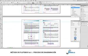 Contenidos del Método de Flutebox Vol.1 - Proceso de maquetación